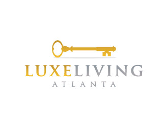 Luxeliving Atlanta logo design