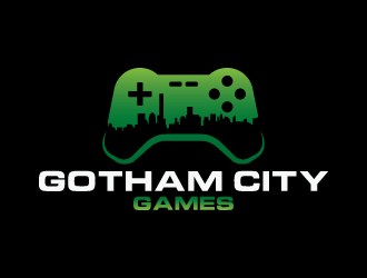 Gotham City Games logo design
