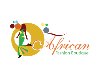 african fashion boutique logo design 48hourslogo com