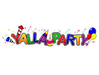 yalla party logo design 48hourslogo com