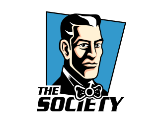 The Society logo design