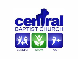 Central Baptist Church logo design winner