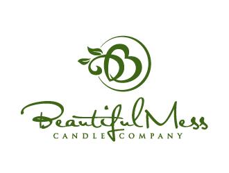 beautiful mess candle company logo design 48hourslogocom