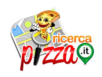 ricercapizza.it logo design