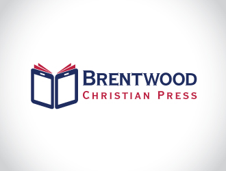 Brentwood Christian Press logo design