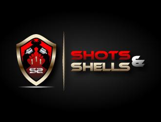 Shots & Shells logo design