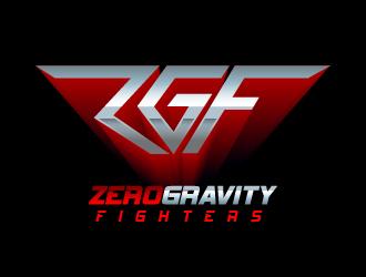 ZGF (Zero Gravity Fighters) logo design