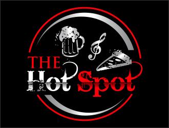 The Hot Spot logo design