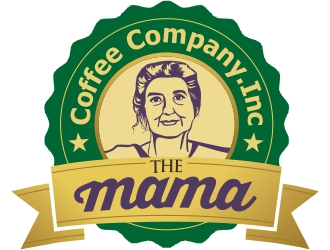 Mama Coffee Company inc. logo design
