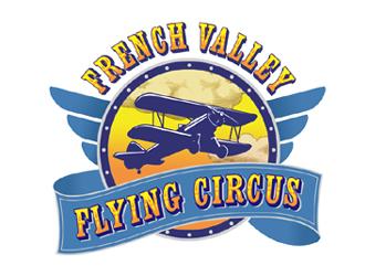 French Valley Flying Circus logo design winner