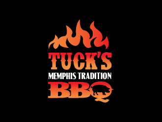 TUCK'S Memphis Tradition BBQ logo design winner