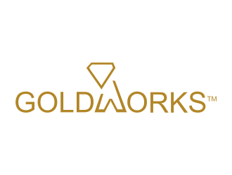 GOLDWORKS logo design