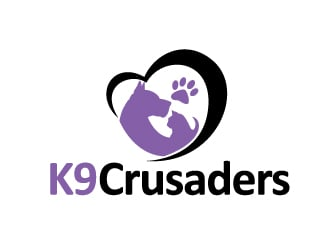 K9 Crusaders logo design