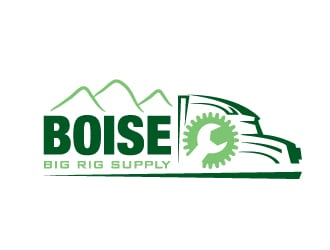 Boise Big Rig Supply logo winner