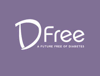 D Free - A Future Free Of Diabetes logo design