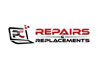 PC Repairs & Replacements logo design winner