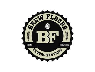 Brew Floors logo design winner