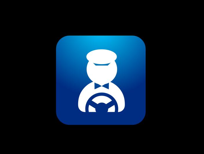 Valet Company App Icon logo design