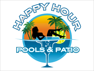 Happy Hour Pools & Patio logo winner