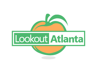 Lookout Atlanta logo design