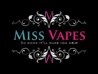 Miss Vapes logo design