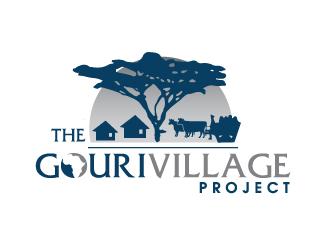 the gouri village project logo design 48hourslogo com