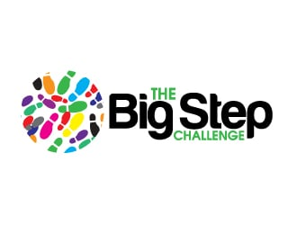 The Big Step Challenge logo design