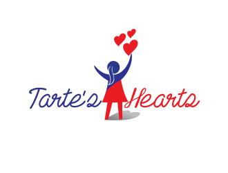Tarte's Hearts logo design