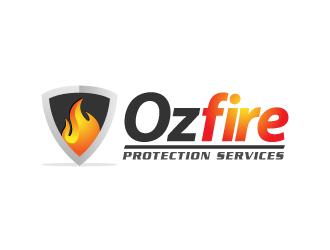 Ozfire Protection Services logo design