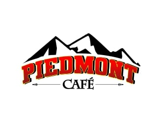Piedmont Cafe logo design