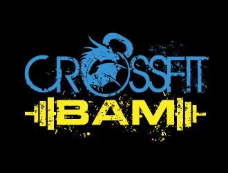 CrossFit BAM logo design