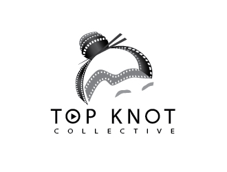 Top Knot Collective logo design
