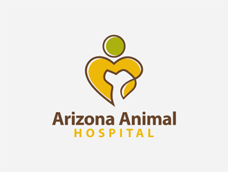 Arizona Animal Hospital logo design