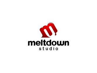 Meltdown Studio logo design