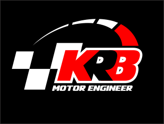 KRB Motor Engineer logo design