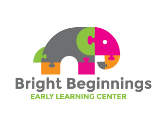Bright Beginnings Early Learning Center, LLC logo design