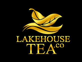 Lakehouse Tea Company logo design
