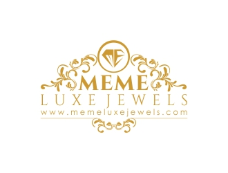 MEME Luxe Jewels logo design