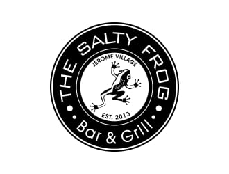 The Salty Frog - Bar & Grill logo winner