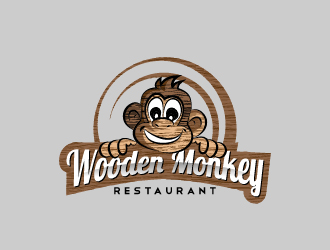 Wooden Monkey logo design