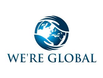 We're Global logo design winner