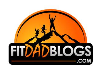FITDADBLOGS.COM logo design