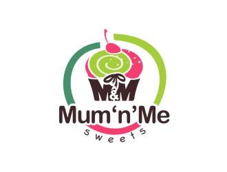 Mum 'n' Me Sweets logo design