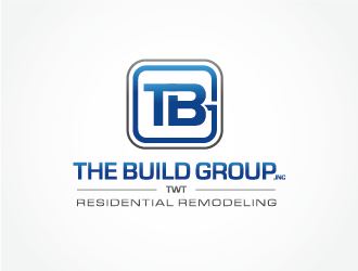 "The Build Group Inc  ""TWT"" logo design"
