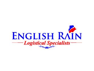 English Rain logo design