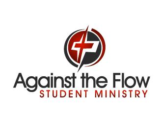 Against the Flow Student Ministry logo design winner