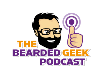 The Bearded Geek Podcast logo design