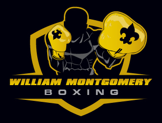 William Montgomery Boxing logo design