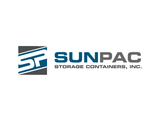 Sun Pac Storage Containers, Inc. logo design