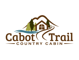Cabot Trail Country Cabin Logo Winner